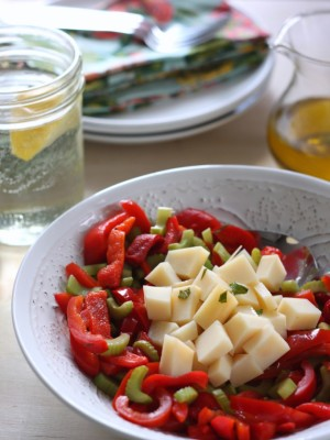 Provolone Pepper Salad