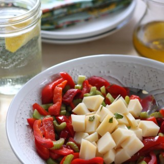 Pepper and Provolone Salad