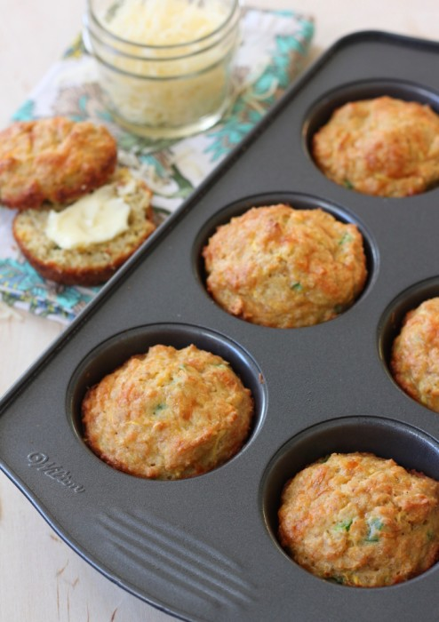 Yellow Squash Corn Muffins
